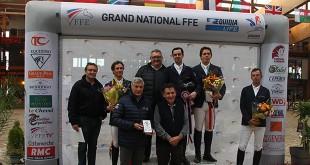 Podium du Grand National du Mans