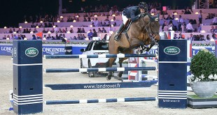Thomas Rousseau. Grand Prix Land Rover. Longines Masters Paris