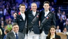 © Alleaume Gilles. Longines Paris Masters. Longines Grand Prix. Simon Delestre (FRA). Patrice Delaveau (FRA). Billy Twomey (IRL). Juan-Carlos Capelli. Fernanda Ameeuw.