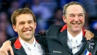 © Alleaume Gilles. Longines Paris Masters. Longines Grand Prix. Simon Delestre (FRA). Patrice Delaveau (FRA). Billy Twomey (IRL). Juan-Carlos Capelli.