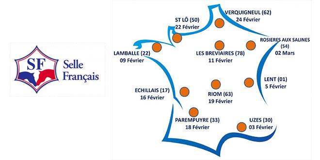 Calendrier des formations de juges Selle Français 2016