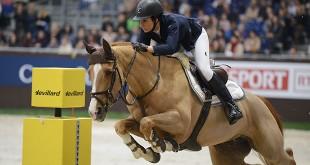 Janika Sprunger (SUI) & Bonne Chance CW dans la Coupe de Genève 2015 (© Julie Herpin / Pixizone.com)