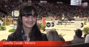 Camille Condé-Ferreira au micro de Horse-actu.fr