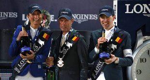 Trio de stars pour cette 3e étape du Global Champions Tour 2016 ! (© Stefano Grasso / LGCT)