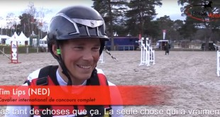 Tim Lips (NED), en bronze aux JEM de Caen 2014, sait qu'il sera difficile de revenir de Rio avec une médaille
