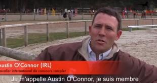 Pilier de l'équipe irlandaise, Austin O'Connor espère faire de son mieux à Rio