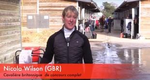 Nicola Wilson (GBR) en route pour Rio