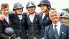 © Alleaume Gilles 2016. BIP Fontainebleau 2016. CSIOP. Coupe des Nations. Remise des Prix. Team France.