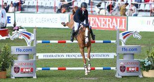 Damien de Chambord et Playboy de St Simeon au sommet ce week-end ! (© Alleaume Gilles 2016. Jumping de la Baule 2016. Grand Prix AC Print - Top Jeunes Talents FFE.)
