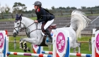 © Alleaume Gilles 2016. BIP Fontainebleau 2016. CSIOP. Coupe des Nations. Sara BRIONNE (FRA). QUIBEL DES ETISSES. Team France.