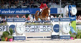 Luciana Diniz (POR) ajoute un nouveau grand prix à son palmarès avec Fit For Fun 13 (© Gilles Alleaume)