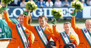 Les Pays-Bas vainqueurs à domicile semblent désormais intouchables ! (© Gilles Alleaume)