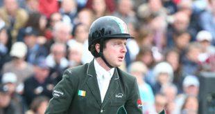 Tous les espoirs irlandais de médaille équestre reposent sur Greg Broderick (© Gilles Alleaume)