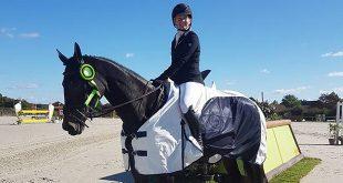 Jonelle Price (NZL) et Cekatinka remportent le CCI2* de Lignières 2016 (© Lucy Miles)