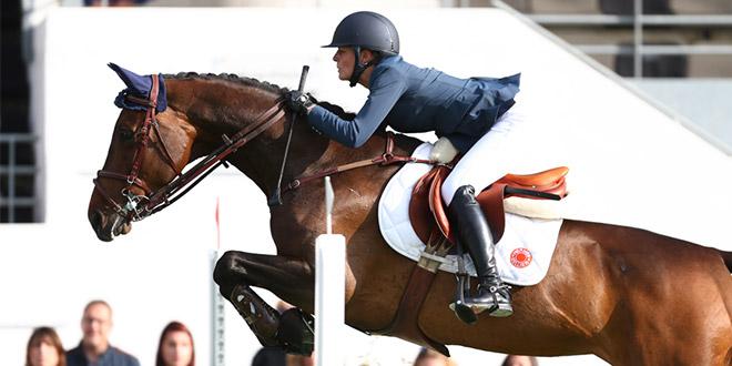 Laëtitia du Couëdic espère reprendre la compétition d'ici trois semaines (© Gilles Alleaume)