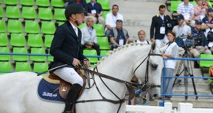 Dirk Demeersman (BEL), ici avec Felton du Mont, quitte la sélection belge (© Xavier Boudon)