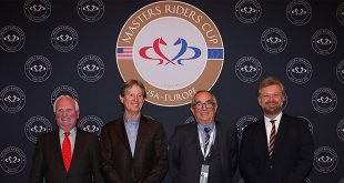 Dr Hering (EEF), Robert Ridland (USA), Philippe Guerdat (Europe) et Christophe Ameeuw (© EEM)