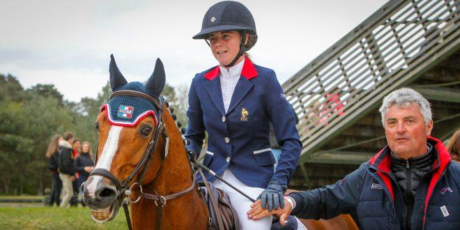 Charlotte Lebas et Quabar des Monceaux remportent le Grand Prix d'Hagen !